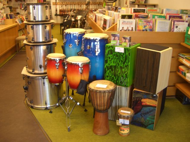 Drums und Percussion in Weinheim
